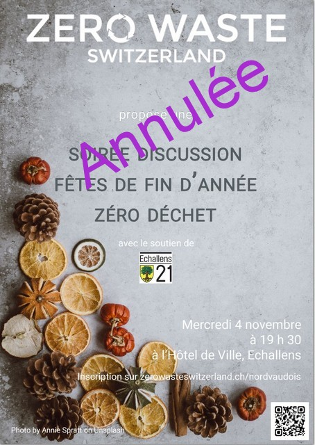 Soirée Discussion avec Zero Waste Switzerland